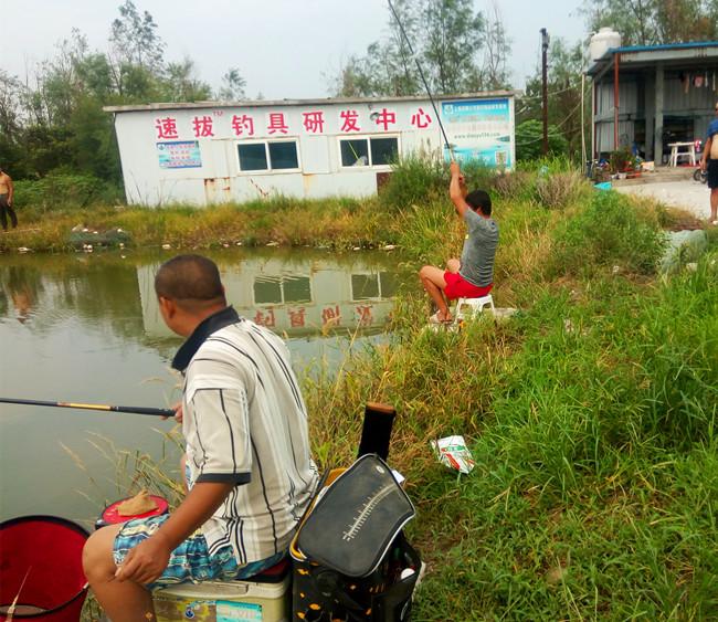 上海浦秀钓场钓鱼比赛